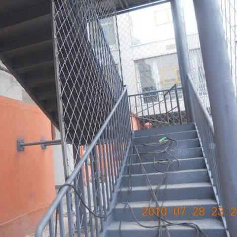 钢结构工程楼梯-004